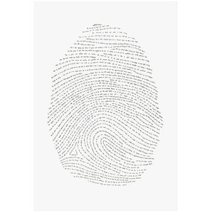 13x19 God's Fingerprint