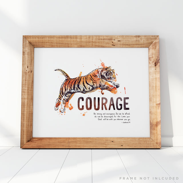 Courage - Joshua 1:9