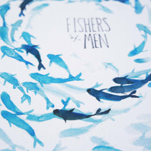 Fishers of Men - Matthew 4:19 Scripture Painting with Fish