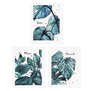 grow flourish thrive triptych bundle