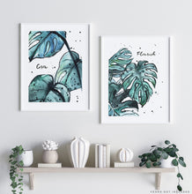 grow flourish thrive wall art