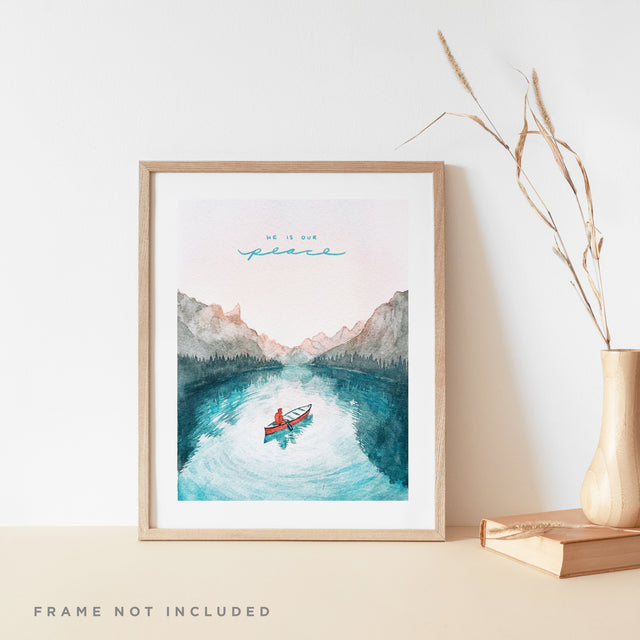 He is Our Peace (Ephesians 2:14) - 3x Print Bundle