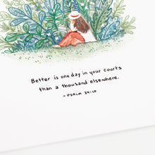 Better is One Day - Psalm 84:10