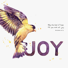 "Scripture Art Print for ""May the God of hope fill you with all joy."" - Romans 15:13"