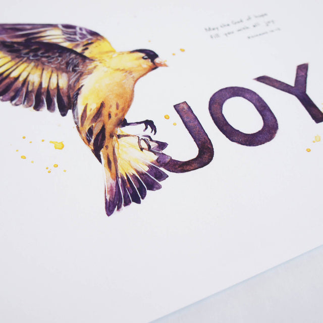 Joy - Romans 15:13 | Scripture Wall Art