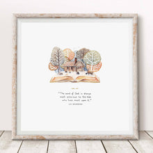 Framed Art Print Charles Spurgeon Quote Live Upon The Word