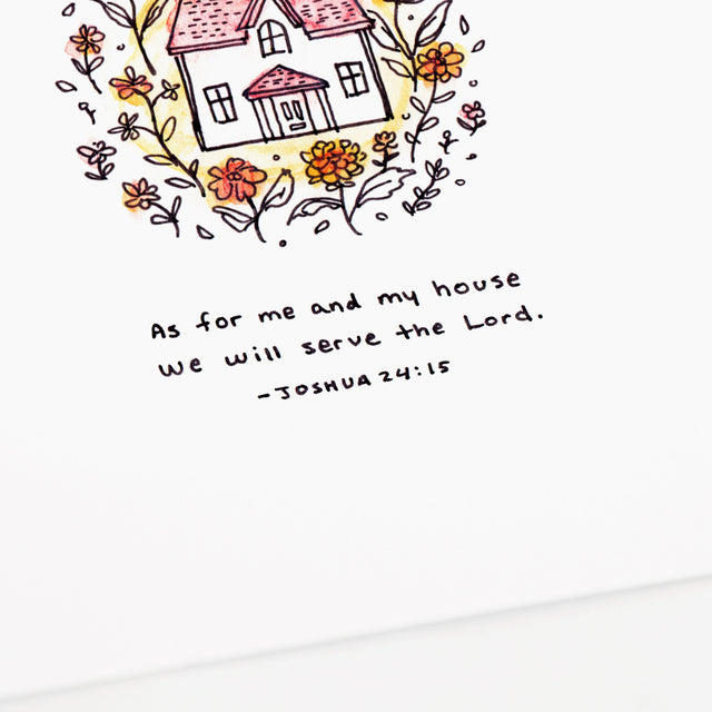 As For Me & My House - Joshua 24:15