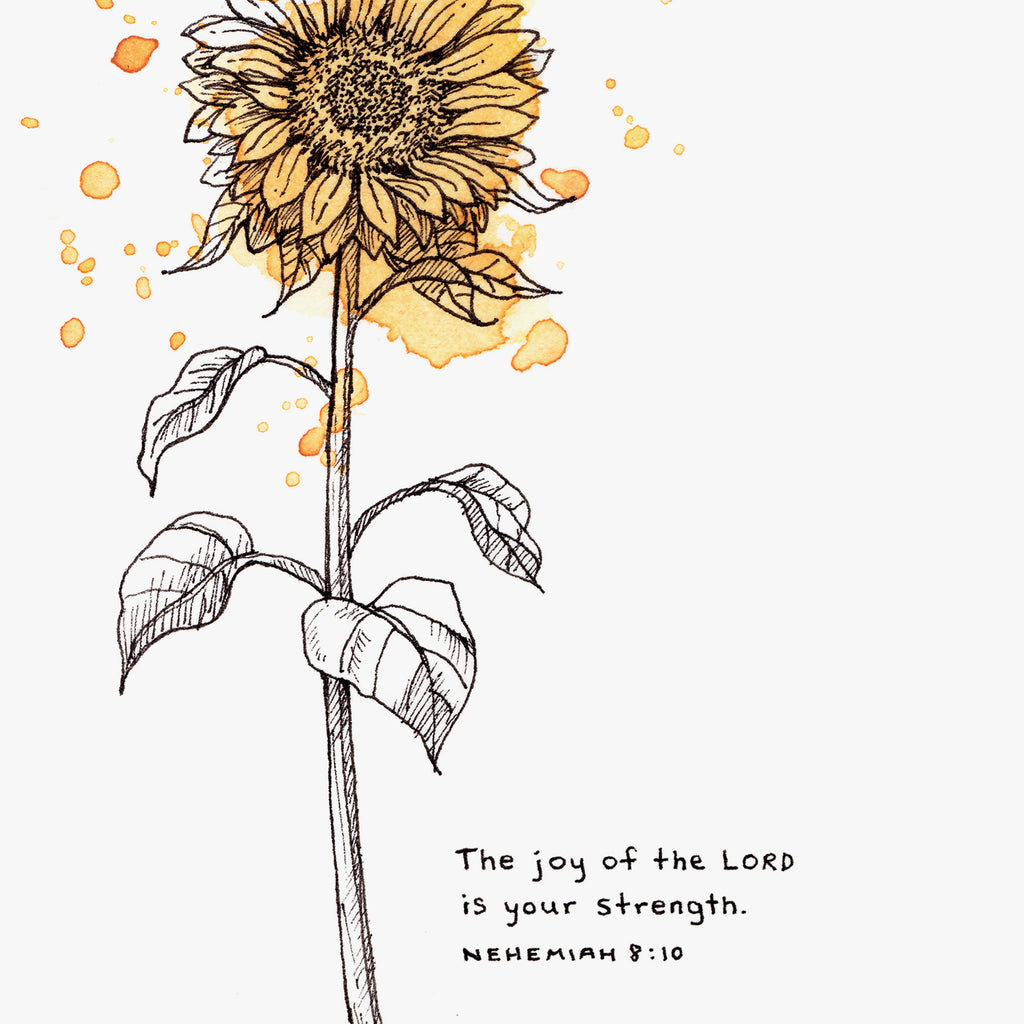 Joy Of The Lord Is My Strength - Nehemiah 8:10