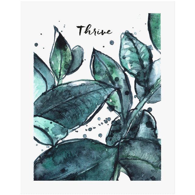 thrive scripture art