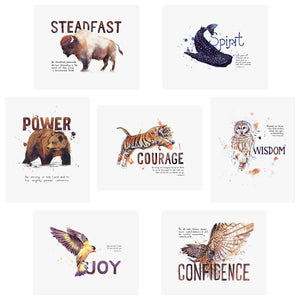 Word + Creation Scripture Art Bundle Animals Verses Bible