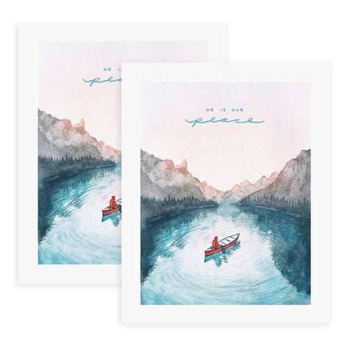 He is Our Peace (Ephesians 2:14) - 2x Print Bundle
