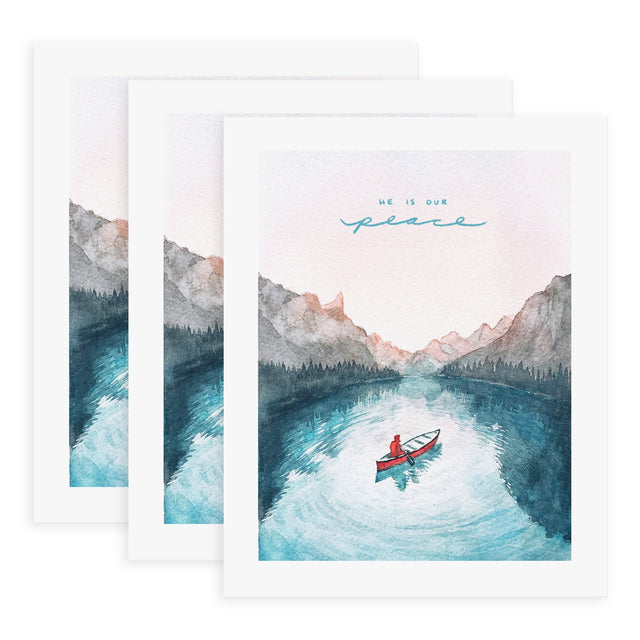 He is Our Peace (Ephesians 2:14) - 4x Print Bundle
