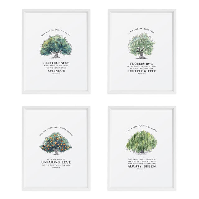 Tree of Faith Bundle scripture art