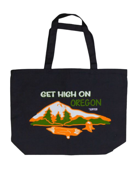 High On Oregon Tote