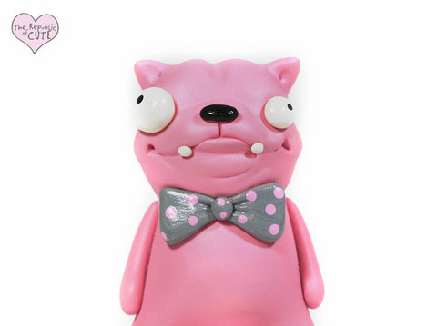 Bow Tied Pink Pet