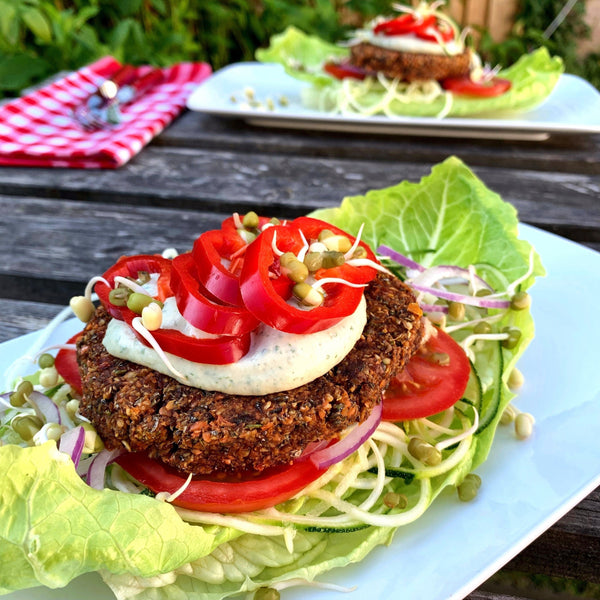 Cumin Sprouted Burgers