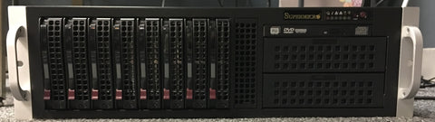 """Refurbished "" SUPERMICRO SERVER 835-9 // SYS-6037R-TXR"