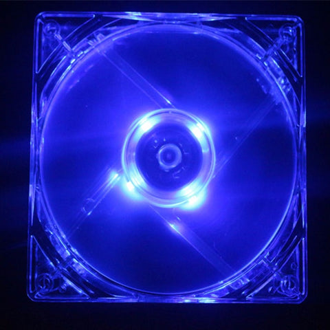 NEW 14CM 140mm Blue Light LED Silent PC Computer Case Cooler Cooling Fan Mod HOT sell