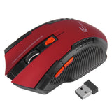 New Portable Mini Mouse Wireless 3D Roller 6D Optical 2400DPI Gaming Mouse Game Mice For Desktop Laptop PC Computer Pro Gamer