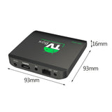 M8S MINI 1GB RAM 8GB ROM Home TV Box Top Quad-Core 32 Bits Wifi Wireless Media Player 1G+8G Set-Top Box For Android 5.1