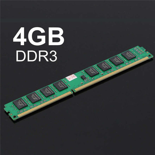 New 1PC 4GB DDR3 PC3-10600 DDR3-1333 MHZ 240-Pin Desktop PC DIMM Memory RAM 1.5V Module New Electric Board Modules