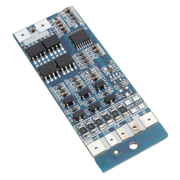 Hot Sale 12.6V 8A W/Balance Li-ion Lithium 18650 Battery BMS PCB Protection Board 51mm X 21mm X 1mm Electrical Board Module