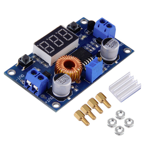 dc dc step down  Hot DC-DC Step Down Converter 5-36V to 1.25-32V 5A Buck Voltage ...
