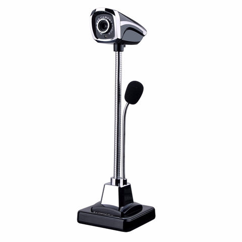 New M800 Desktop USB HD Webcams Web Cam Camera Built-in Night LED Lights/microphone For Computer PC Laptop Video Recording/Call