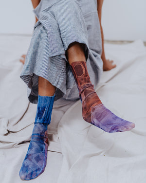 Mesh Sock / Tulle X Stephanie Gonot