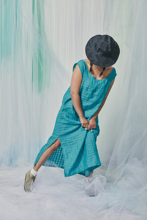 Essence Dress / Ocean Gingham