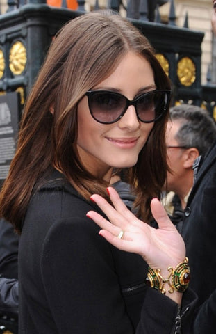With Prada Cat Eye Sunglasses