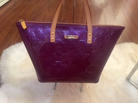 Louis Vuitton Bellevue Vernis Bag