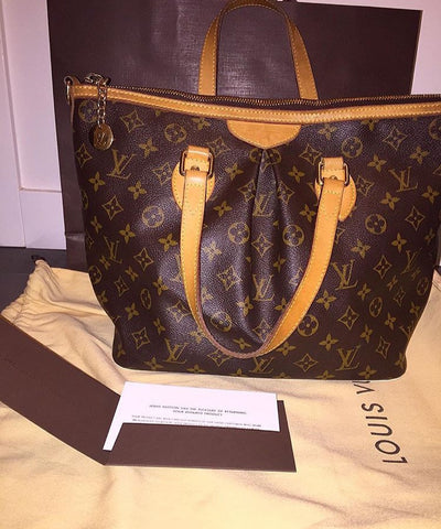 Louis Vuitton Palermo Handbag