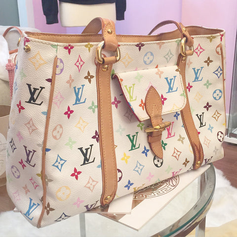 Louis Vuitton Multicolore Aurelia MM Handbag