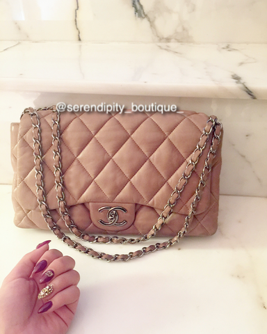 Chanel 3 Way Lambskin handbag