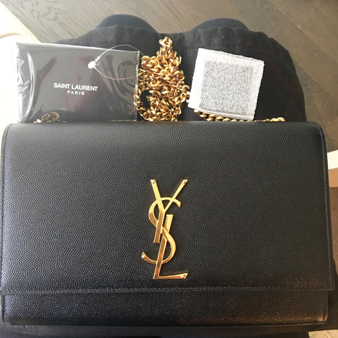 Saint Laurent monogram clutch