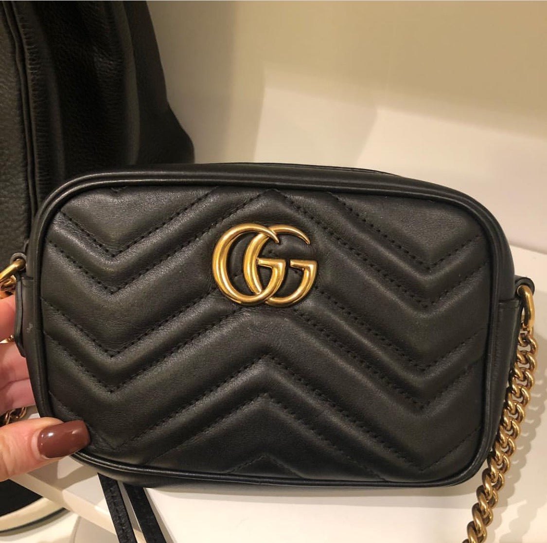 6fed7371748 Gucci mini marmont bag – Beccas Bags Boutique