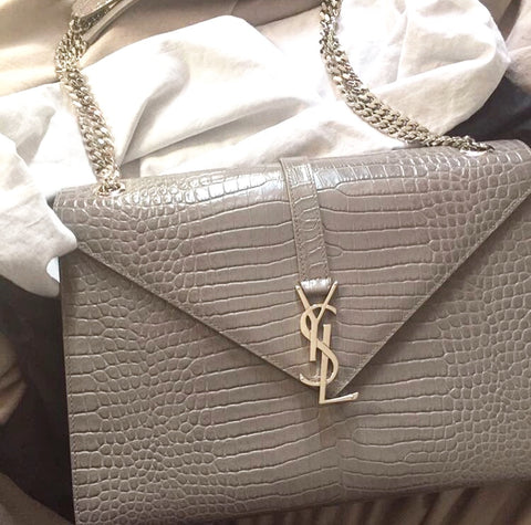 Saint Laurent large monogram shoulder bag