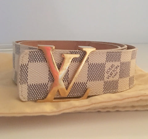 Louis Vuitton initiales 40 mm belt