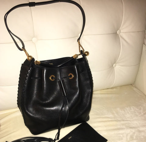 Chloe gala leather bag