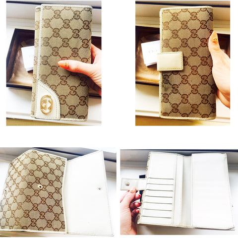 Gucci Canvas Wallet