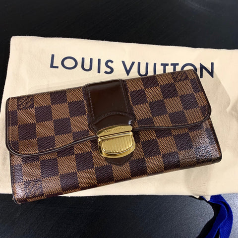 Louis Vuitton sistina portefeuille wallet