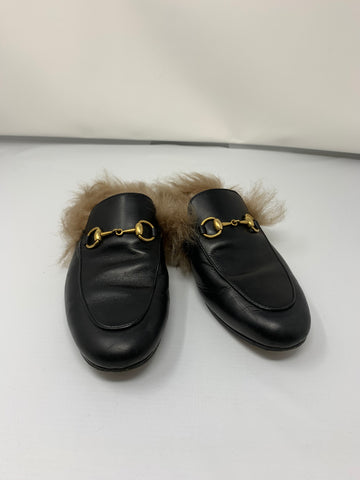 Gucci Princeton leather slipper