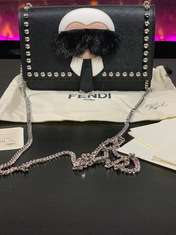 Fendi Karl WOC bag