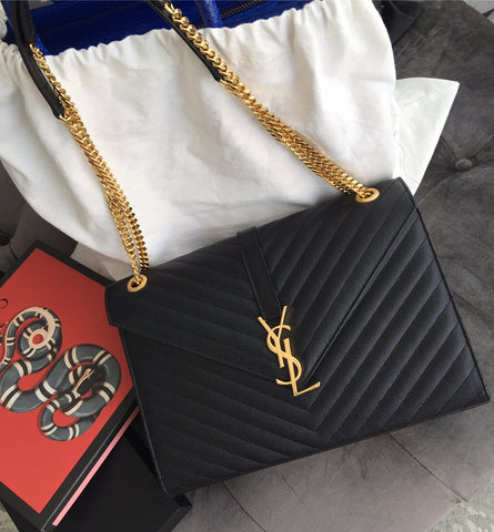 Saint Laurent Monograme chain bag
