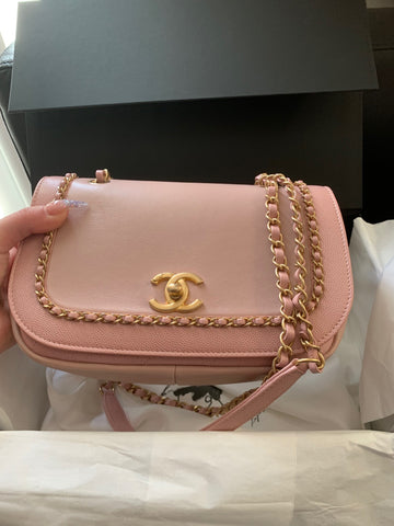 Chanel lovely chain bag