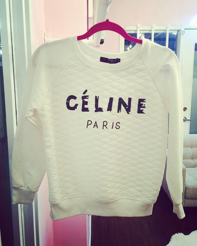 Celine Paris Sweater