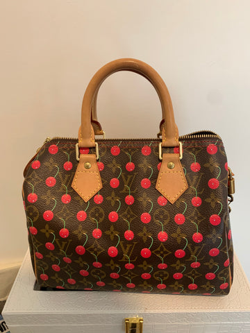 Louis Vuitton speedy cerise