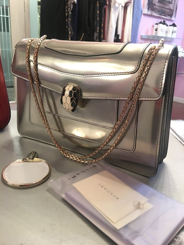 Bvlgari serpentine bag