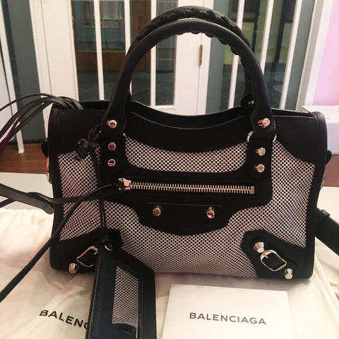 Balenciaga limited edition mini city bag